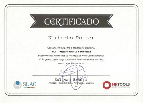 Analista Comportamental da ferramenta DiSC® certificado pela SLAC